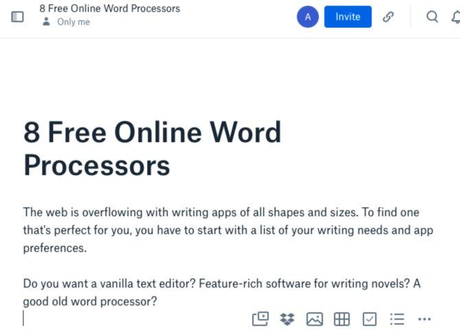 best free online paper editor