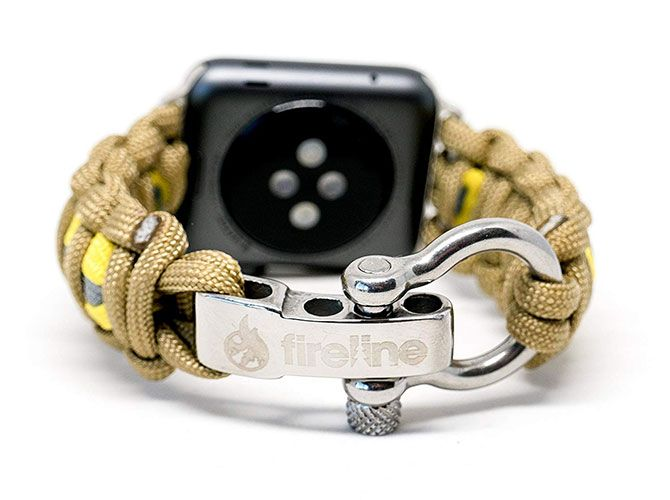 FireLine Paracord Apple Watch band