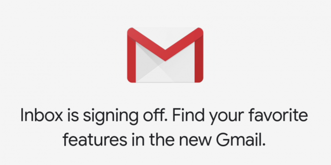 Google Is Killing Inbox to Focus on Gmail