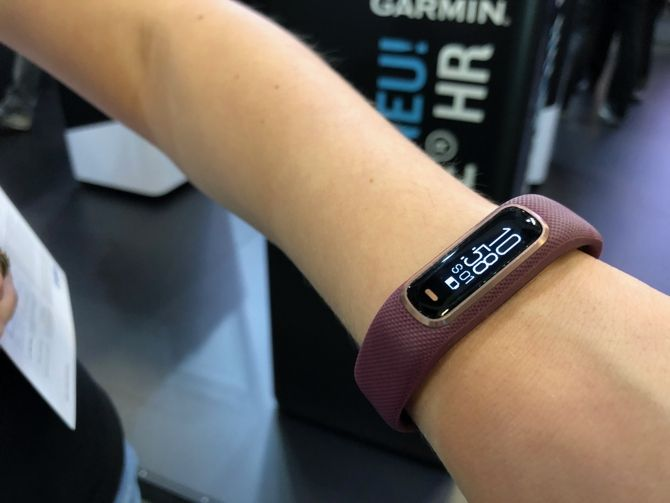 bbd5d8f57489ea Wearables at IFA 2018: What's New and What's Hot? garmin vivosmart 4 1  ifa2018