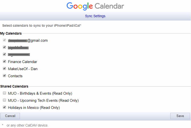 How to Force Shared Google Calendars to Show Up on iOS