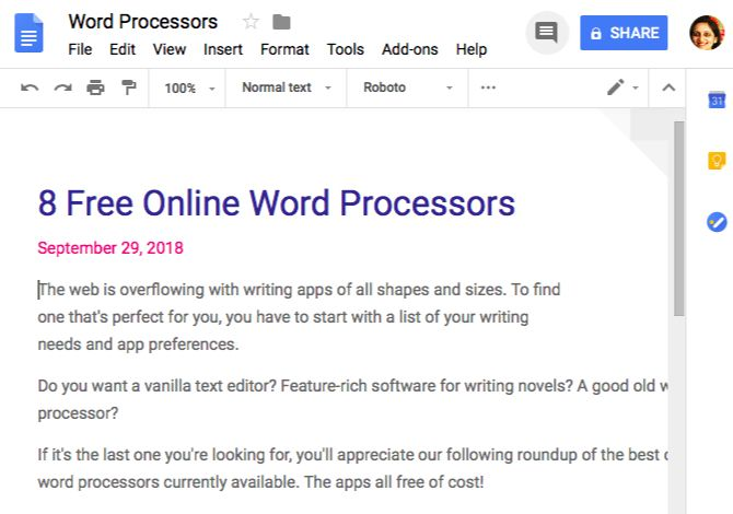 how to change layout in google docs