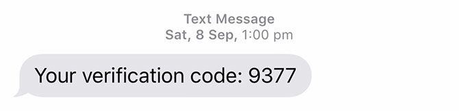 iOS 12 Verification Code