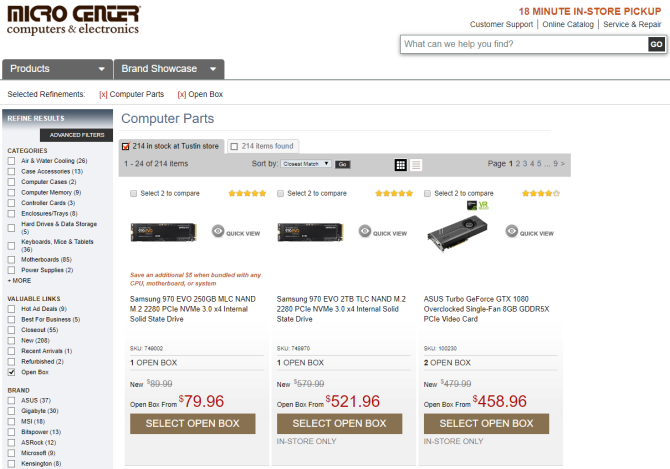 for huge cpu discounts micro center