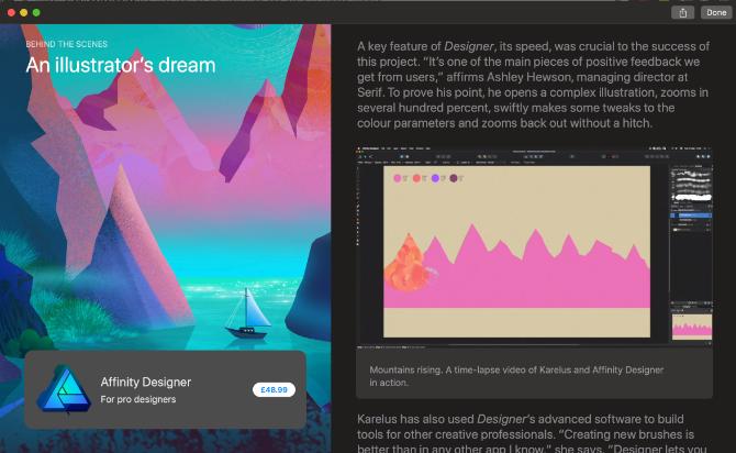 macOS Mojave App Store Discover