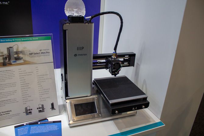 3D Printing at IFA 2018: Affordable Full Color Printing and Education Highlights monoprice mp select mini pro ifa 2018