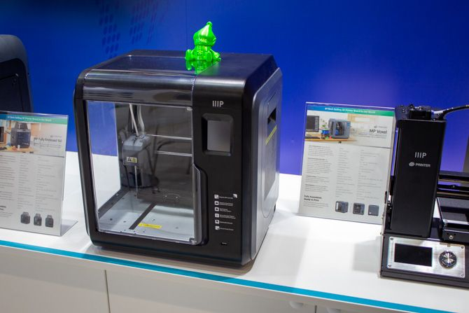 3D Printing at IFA 2018: Affordable Full Color Printing and Education Highlights monoprice mp voxel ifa 2018