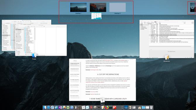 move the window from desktop1 to desktop2