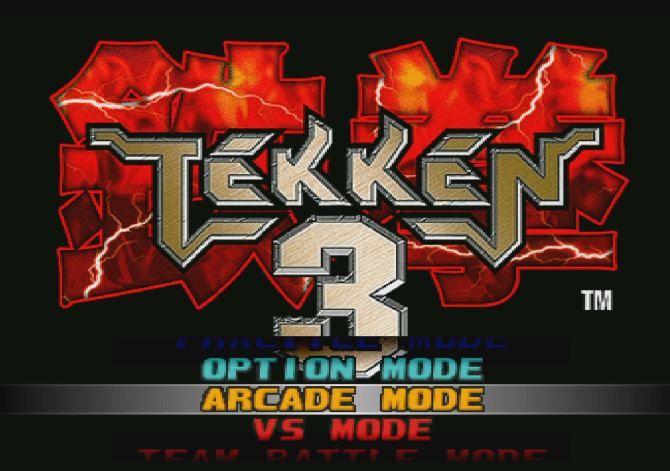 Tekken 3 rodando em um Raspberry Pi 3