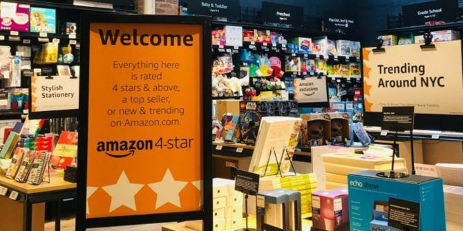 Amazon Launches a New 4-Star Retail Store