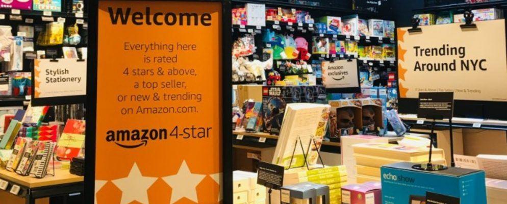 Amazon startet einen neuen 4-Sterne-Einzelhandelsladen