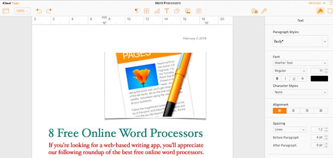pages-for-icloud-document-layout