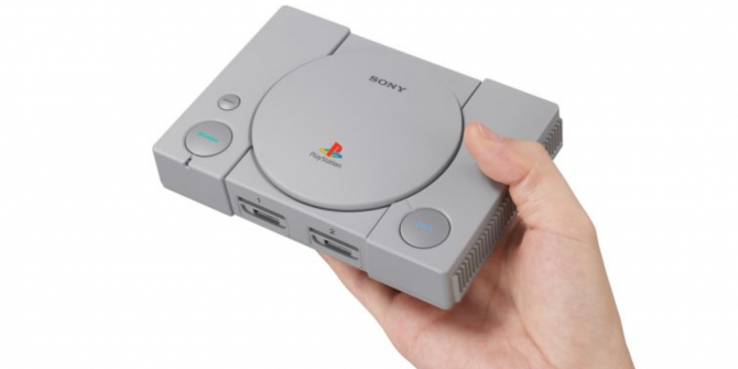 Sony Launches the PlayStation Classic for $99