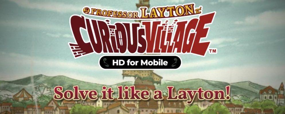 Professor Layton kommt auf Android und iOS