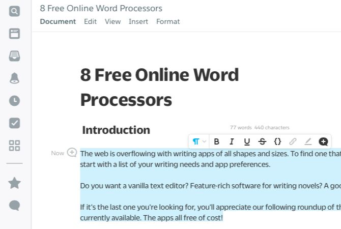 The 8 Best Free Online Word Processors | The Better Parent