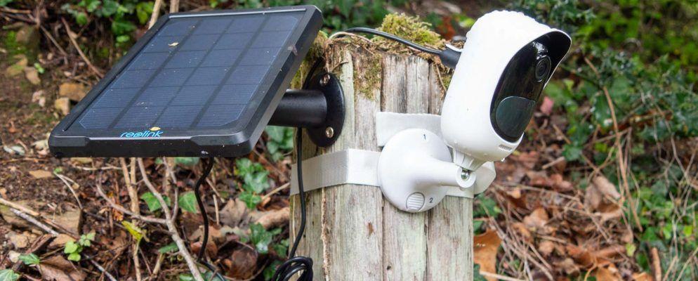 Reolink Argus Pro ist eine 100% kabellose Sicherheits-Kamera, die niemals aufgeladen werden muss