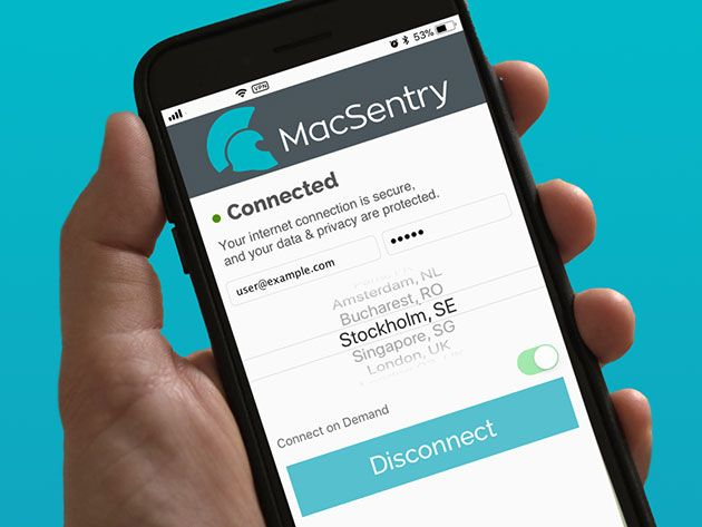 Get Rock-Solid Privacy Protection with 66% off MacSentry VPN