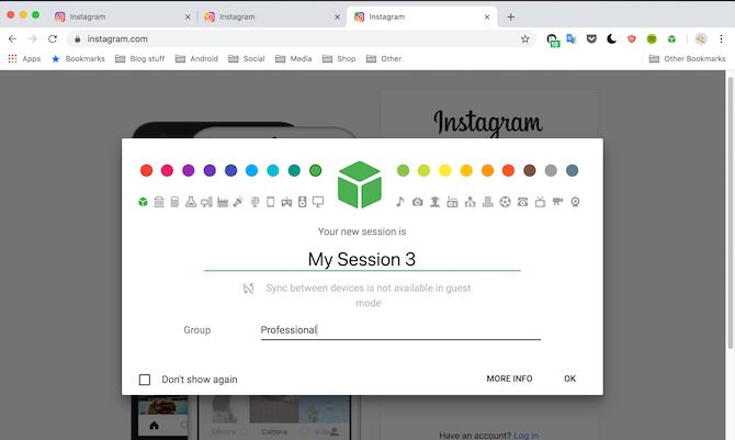 SessionBox Google Chrome Demo