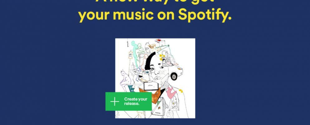 Spotify lädt Indie-Künstler ein, ihre eigene Musik hochzuladen