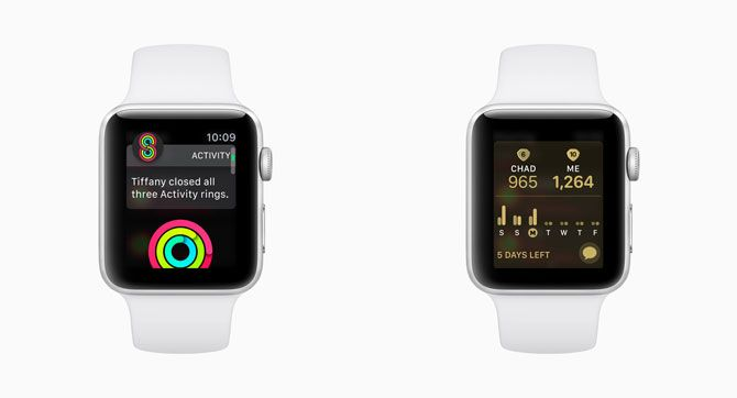 watchOS 5 Activity Competitions