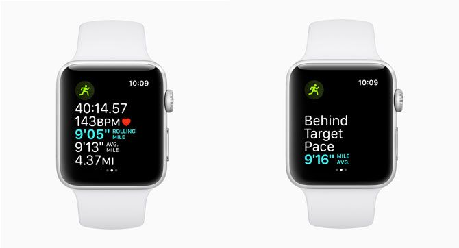 watchOS 5 Running Features