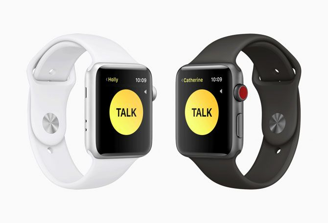 watchOS 5 Walkie Talkie