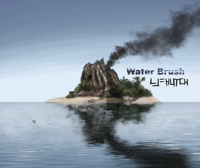 gimp water brush