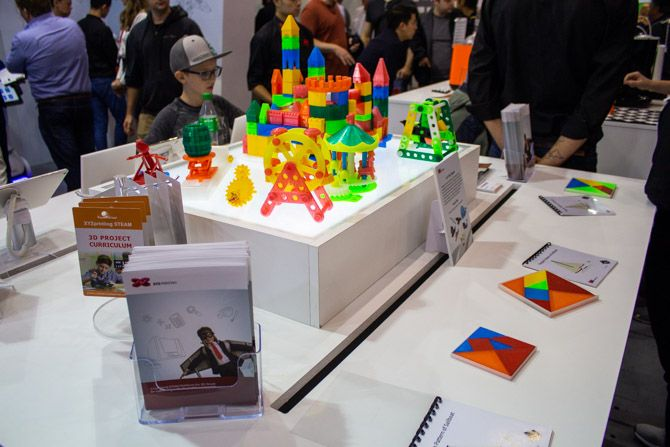 3D Printing at IFA 2018: Affordable Full Color Printing and Education Highlights xyzprint steam curricula ifa2018