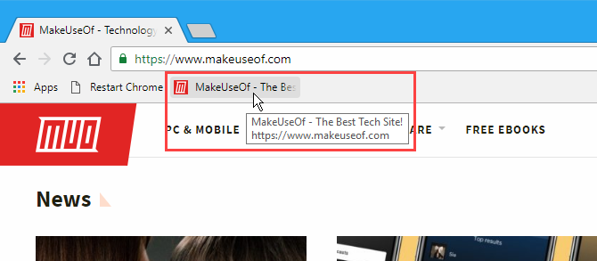 Note showing on popup on bookmark in Chrome