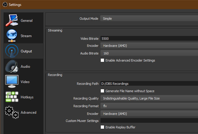 08-OBS-Simple-Recording-Settings