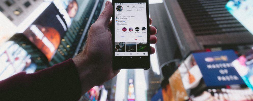 Wie man ein Video oder Bild auf Instagram