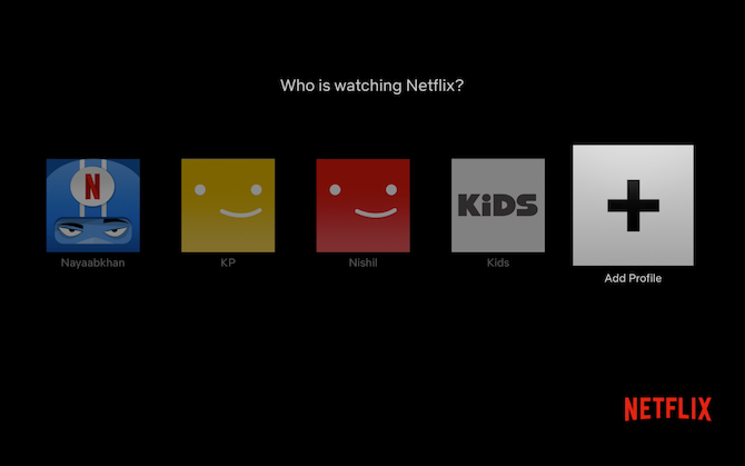 Netflix Apple TV Add Profile