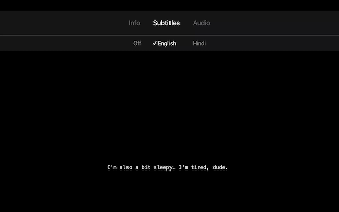 Netflix Apple TV Subtitles Style Choose Subtitles