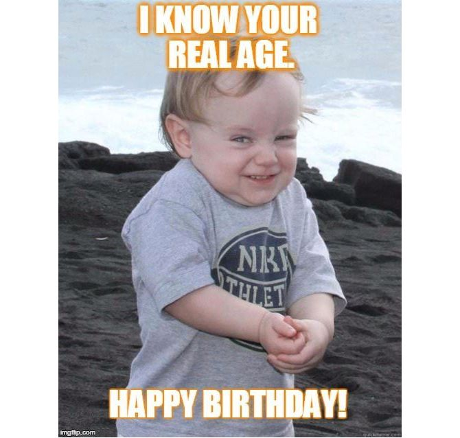 meme birthday happy memes age someone brighten know wishes close