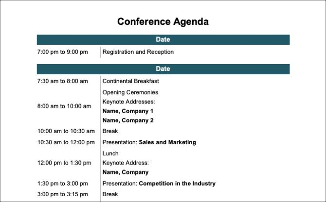 the 15 best meeting agenda templates for microsoft word