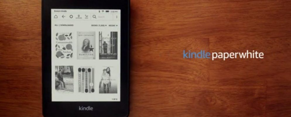 Amazon enthüllt den brandneuen Kindle Paperwhite