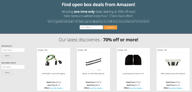 JungleFlip has the best Amazon open box deals to save money