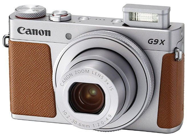 Canon Powershot G9 X Mark II is the best budget camera among compact or point-and-shoot cameras