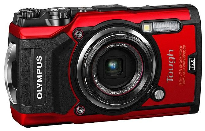 Olympus TG-5 is the best rugged, tough, waterproof camera