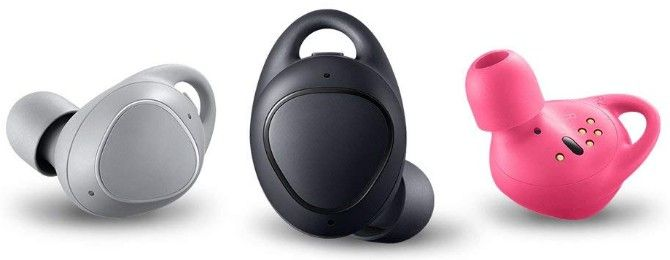Samsung Gear IconX as the best true wireless earbuds with built-in storage for music without phone