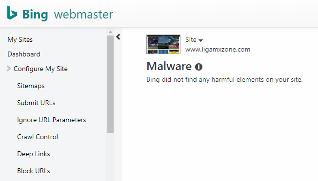 bing malware report