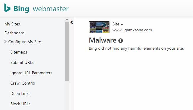 bing malware report