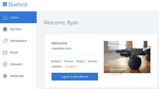 Wie installiert man WordPress auf Bluehost