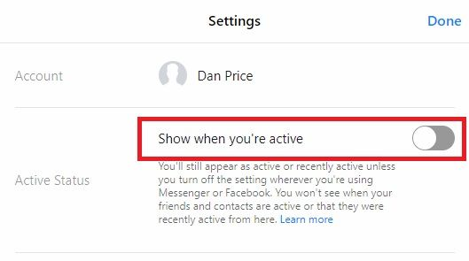 How to Appear Invisible (Offline) on Facebook Chat and Messenger