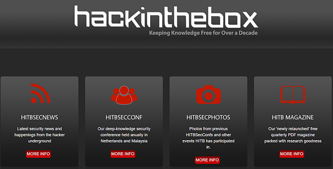 hackinthebox hacking knowledge