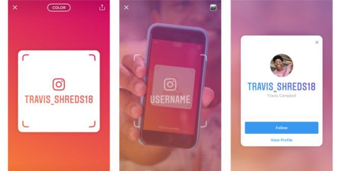 Nametag Makes It Easy to Add Instagram Friends