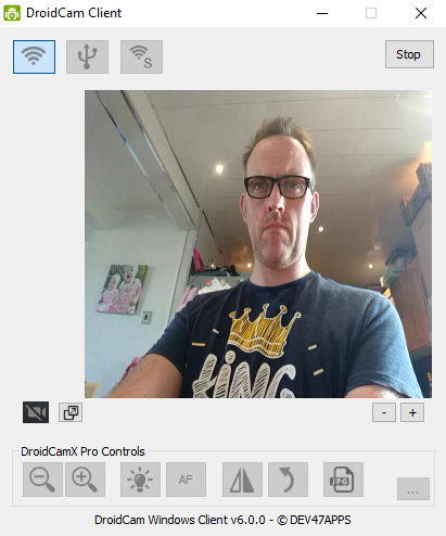 Droidcam lets you use Android as a webcam