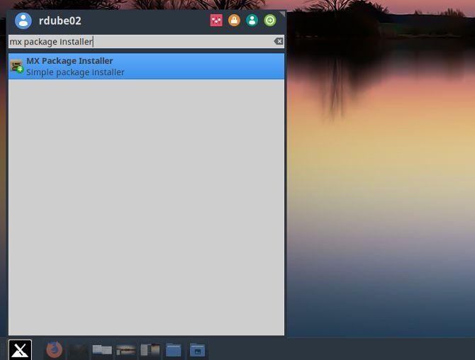 mx linux package installer