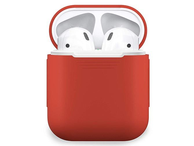 PodSkins Silicon AirPods Case. PodSkinz AirPods Case Protective Silicone Cover ...