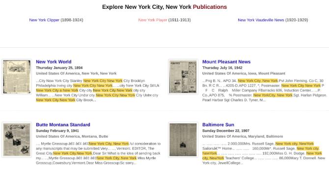 5 Websites, die alte Sounds, Karten, Zeitungen, Musik und Bücher speichern